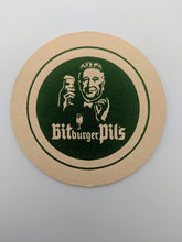 Load image into Gallery viewer, Vintage Beer Coaster Germany Bitburger Pils
