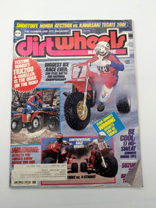 Vintage Dirt Wheels Magazine June 1984