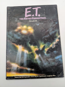 Vintage Book E.T. The Extra Terrestrial Storybook 1982