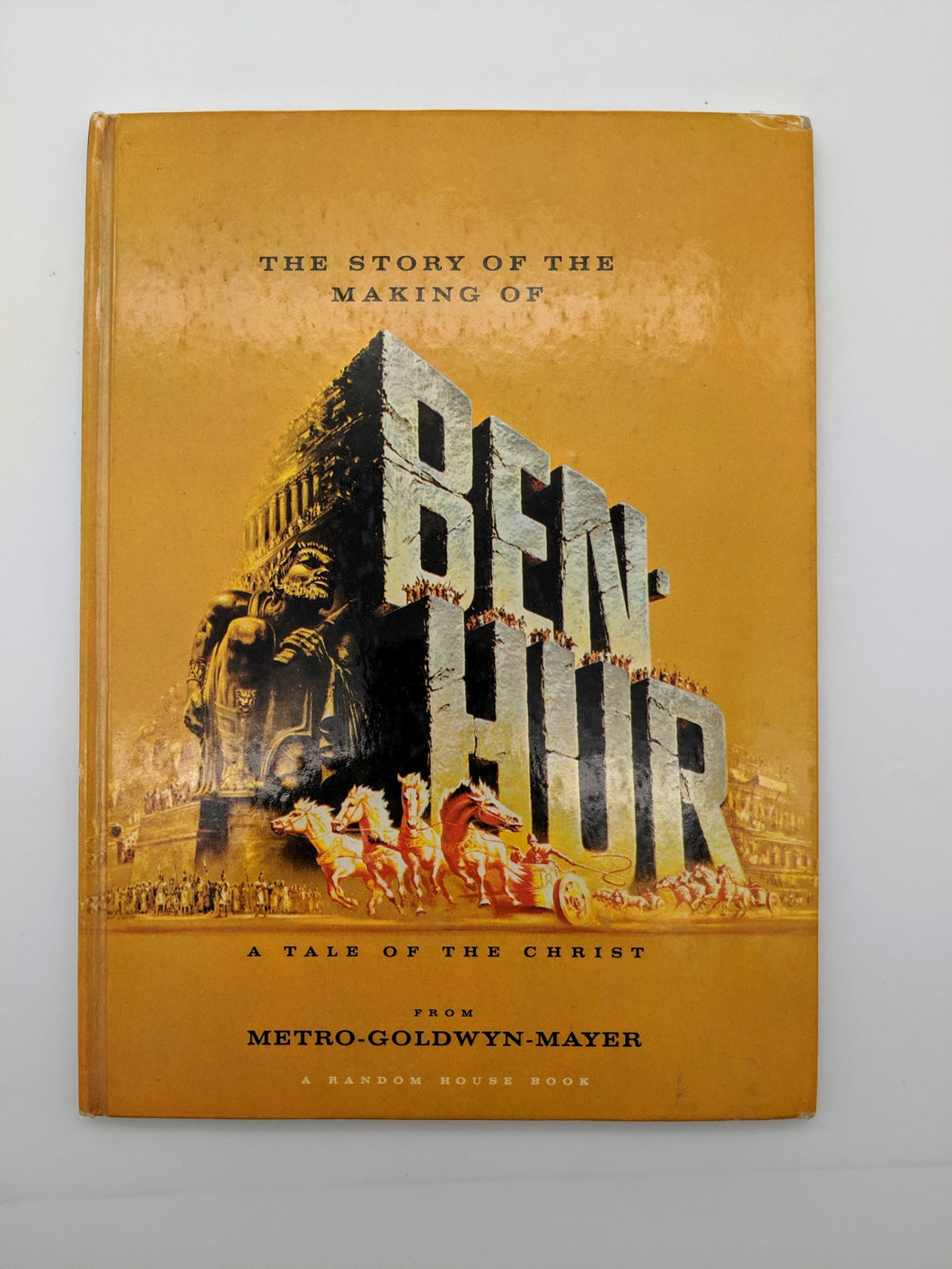 The Story of the Making of Ben Hur Vintage Book