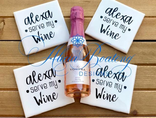Coasters Collection (Alexa - Wine)