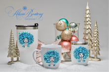 Load image into Gallery viewer, Afro Glam Tiffany HOLIDAY BUNDLE Coffee, tea, stainless steel tumbler, wine tumbler