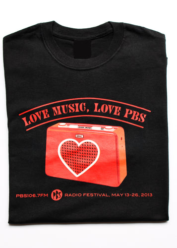 2013 Radio Festival Womens Tee - 'Romance Your Radio'