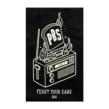 Load image into Gallery viewer, 2018 Radio Festival Mens Tee - 'Feast Your Ears'