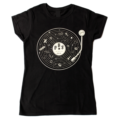 2017 Radio Festival Womens Tee - 'One Small Step'