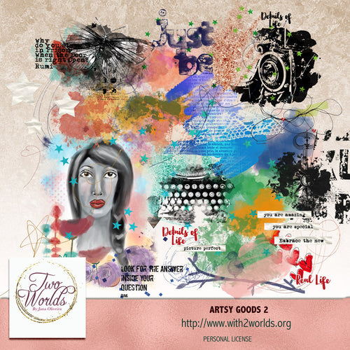 Artsy Goods 2 - 2Worlds Digi Scrap Supplies