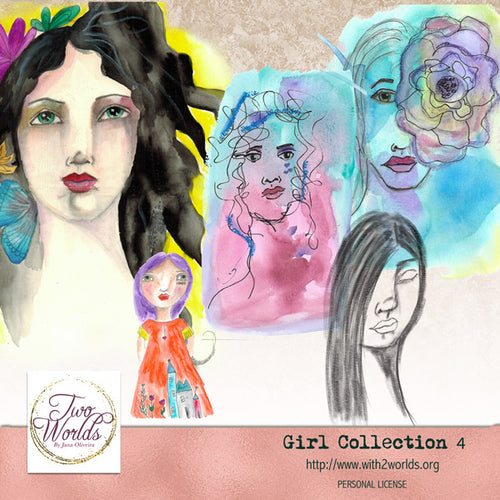 Girls Collection 4 - 2Worlds Digi Scrap Supplies