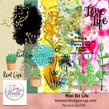 Load image into Gallery viewer, Mini Kit Life - 2Worlds Digi Scrap Supplies