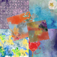 Load image into Gallery viewer, Watercolor Grunge Papers - 2Worlds Digi Scrap Supplies