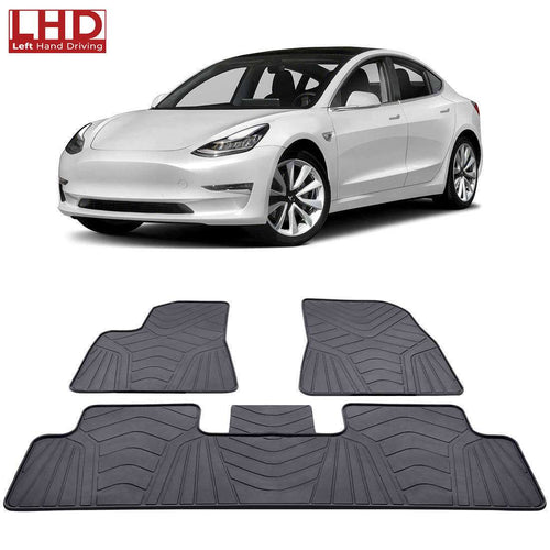All-weather Floor Mats For Tesla Model 3