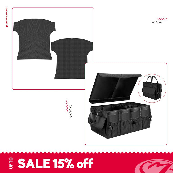 trunk mat(1 piece)&trunkorganizer