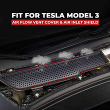 Load image into Gallery viewer, Air Inlet Vent Grille Cover Shield for Tesla Model 3 - Available in US