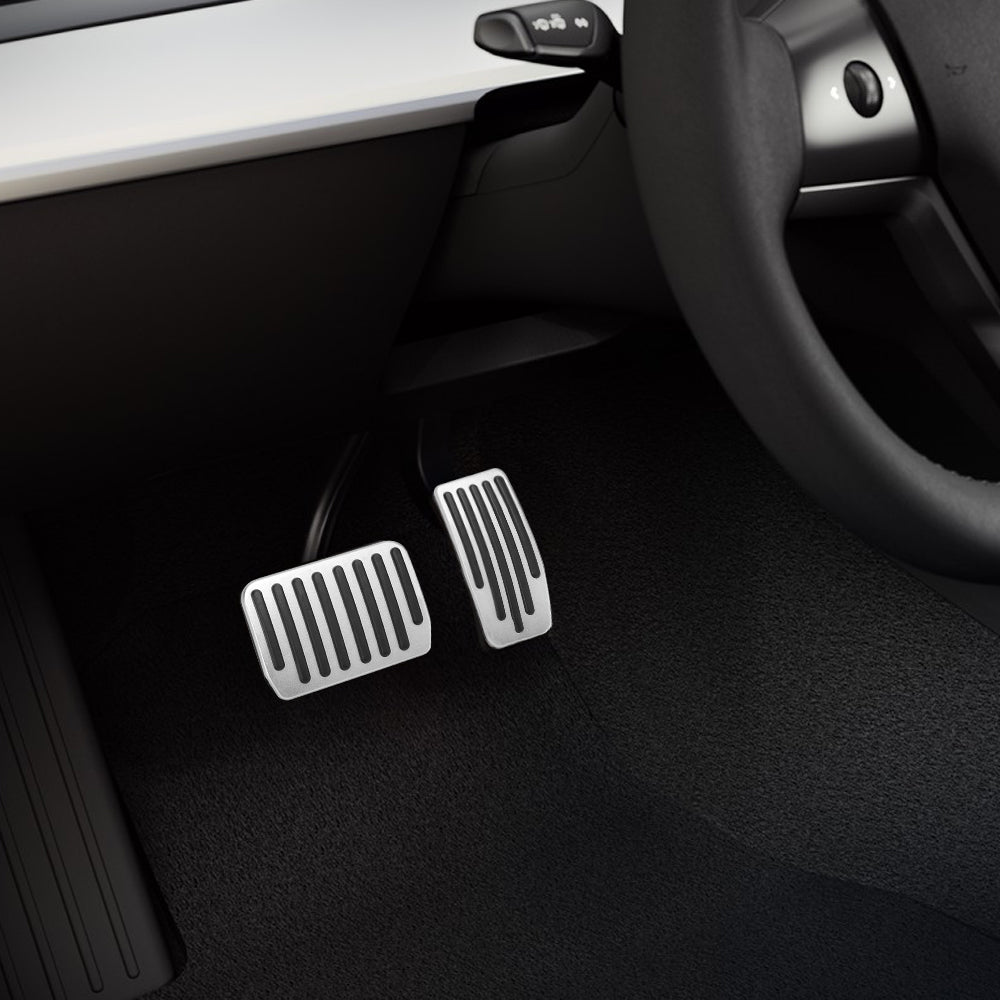 HOPQ Model 3 Performance Pedal Set Auto Foot Pedal Pads Pedal Covers For Tesla Model 3 Accessories