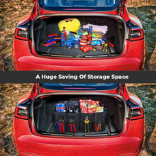 Load image into Gallery viewer, Trunk Organizer , Auto Cargo Storage for All Tesla Model 3