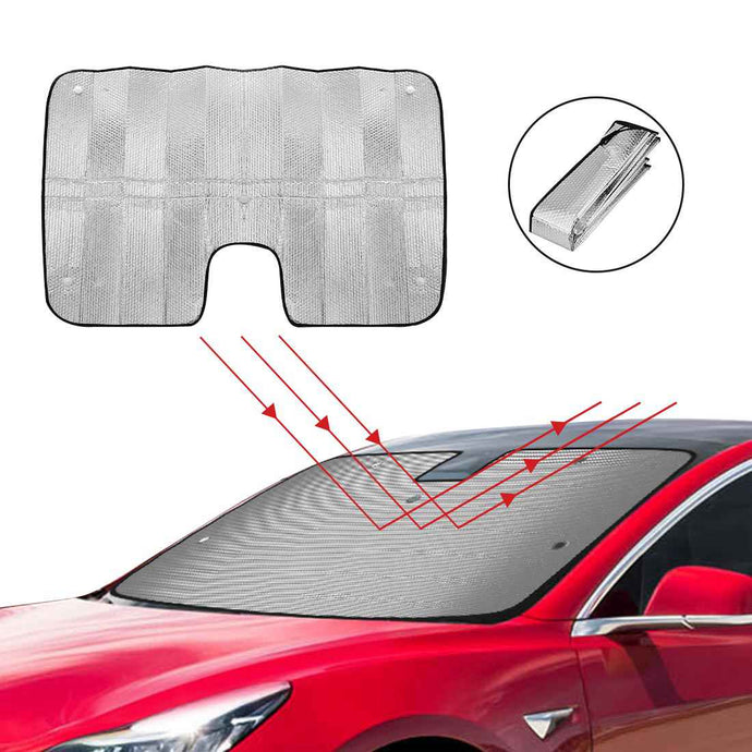 Sunshade, Heatshield, Windshield for Tesla Model 3