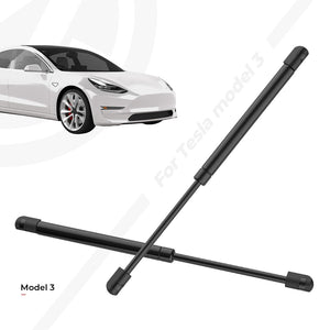 Frunk Lift Automatic Struts with Gas Spring and Stainless Steel Washer for Tesla Model 3 (Set of 2)