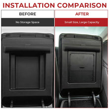Load image into Gallery viewer, Hidden Armrest Storage Box for Tesla Model 3 (2 colors) & Tesla Model Y - Available in US & Canada