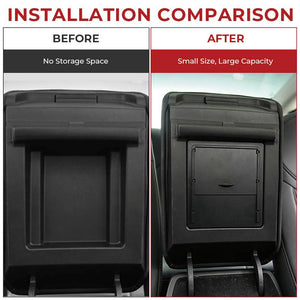 Hidden Armrest Storage Box for Tesla Model 3 (2 colors) & Tesla Model Y - Available in US & Canada