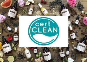 Certified Clean Beauty!