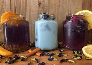 Butterfly Pea Flower Tea Three Ways!