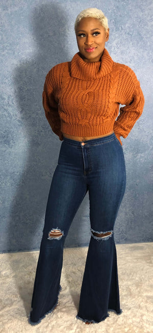 Ariell Cable Knit Sweater
