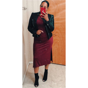 Casual Ting (Burgundy)