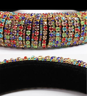 Chunky Jeweled - Multicolor Headband