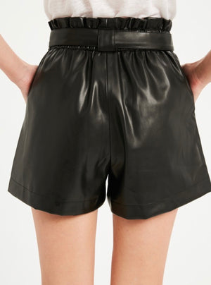 Tabitha Leather Shorts