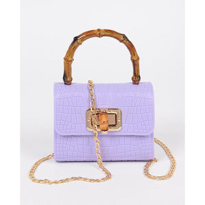Jelly Croc Bag (Lavender)