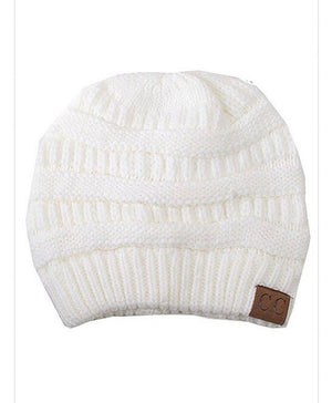 Winter Beanie w/ Mask Set (Ivory)