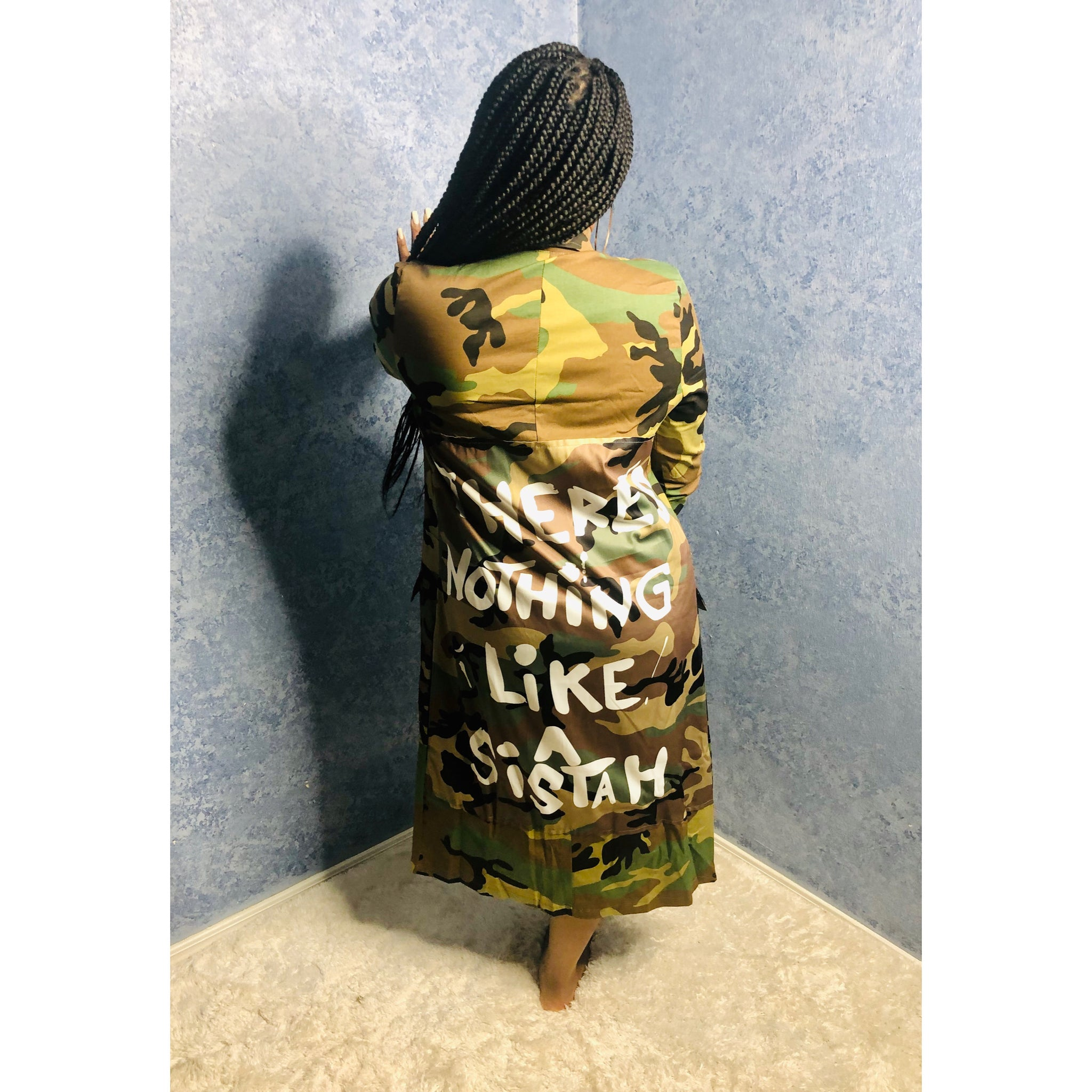 Camo Graffiti Jacket