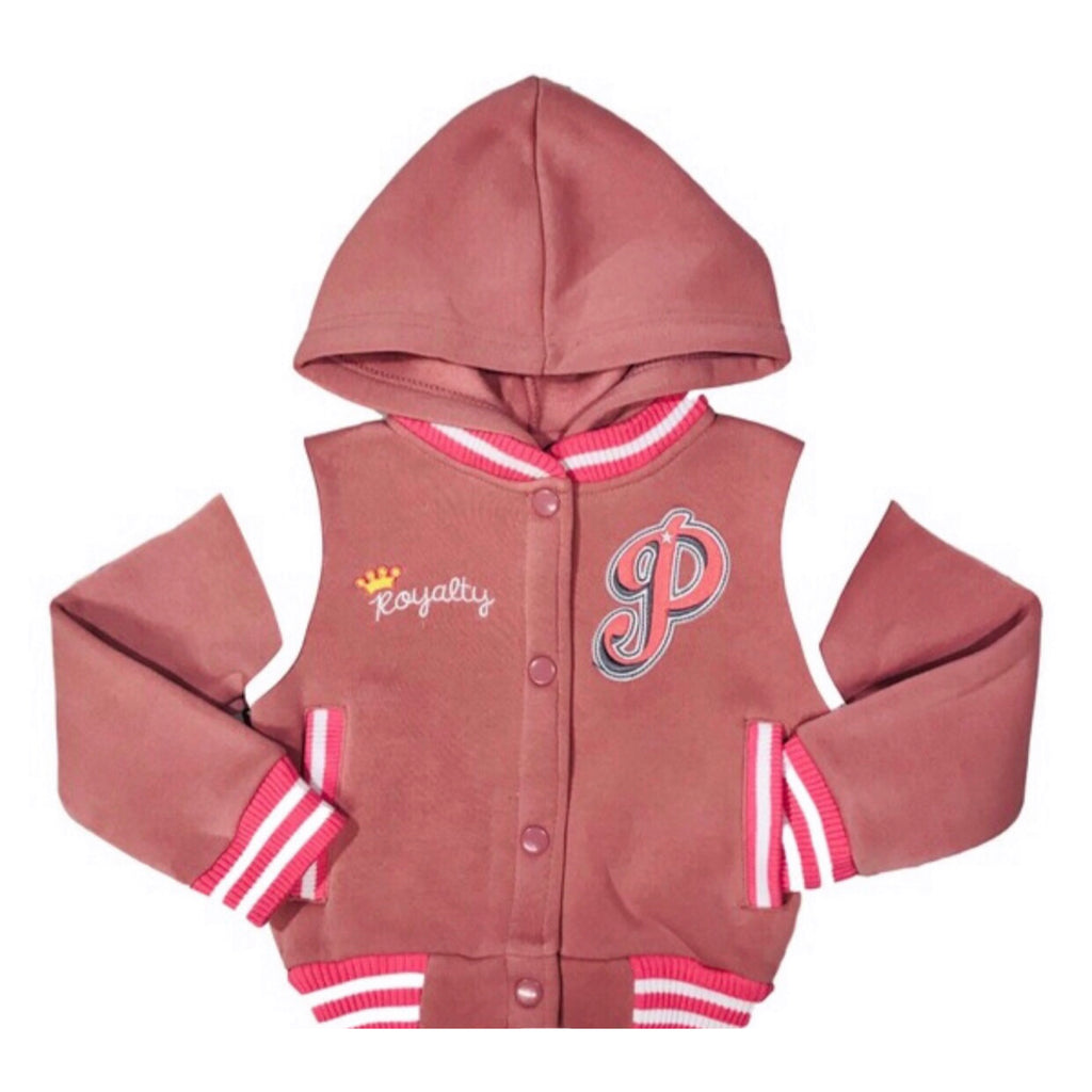 Princess Varsity Jacket (Pink)