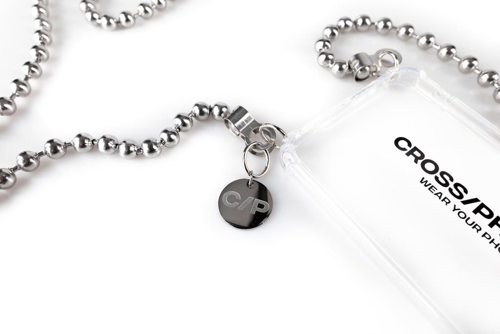 CROSSPHONE BALL CHAIN SILVER