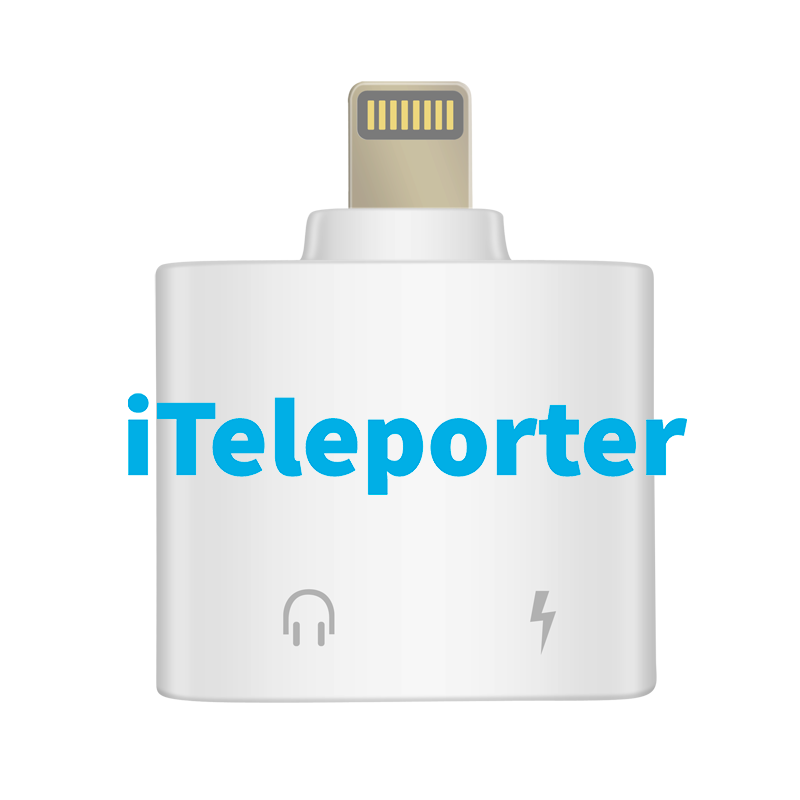 Double Location Pro | 3-in-1 | iTeleporter GPS Spoofer + Lightning Charging + 3.5mm Headphone Jack