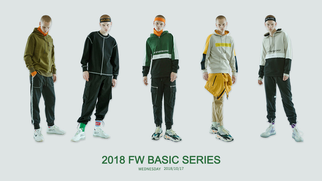 2018 Fall Winter Basic Series update