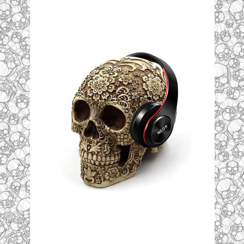 Skull Decoration Unique Headphone Stand