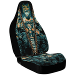 Dark King / Queen Personalized Car Seat - NeoSkull
