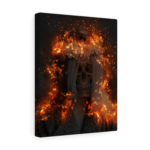 Fall Fashion Canvas Wall Art - NeoSkull