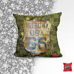 Arizona Shield Post Apocalyptic Pillow, Pillow Fight Heroes - NeoSkull
