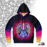 mechanics hoodie combustion rib cage mechanic gift