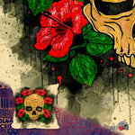 Paradise Hibiscus Flowers Pillow - NeoSkull