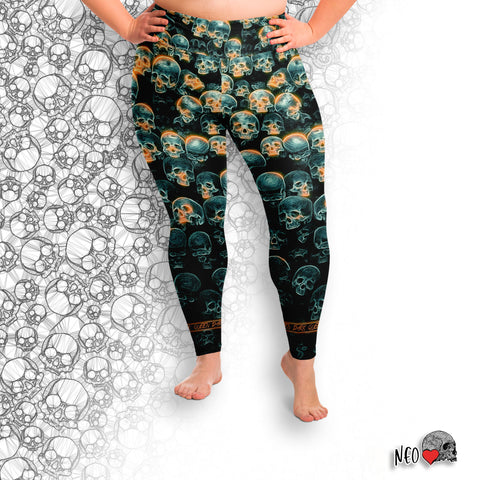 Dark Queen Plus Size Leggings - NeoSkull