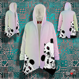 Panda Roar Hooded Microfleece Cloak - NeoSkull