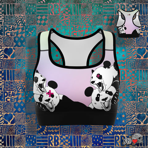 Panda Roar Sports Bra - NeoSkull