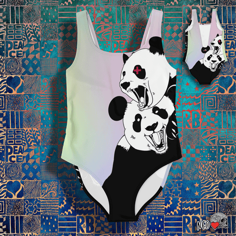 Panda Roar Swimsuit - NeoSkull