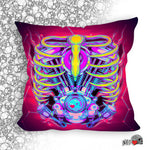 mecha prime engine cyberpunk pillow