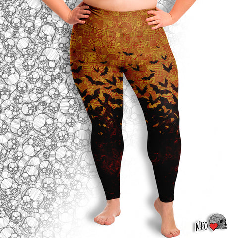 Legging of Metamorphosis Plus Size - NeoSkull