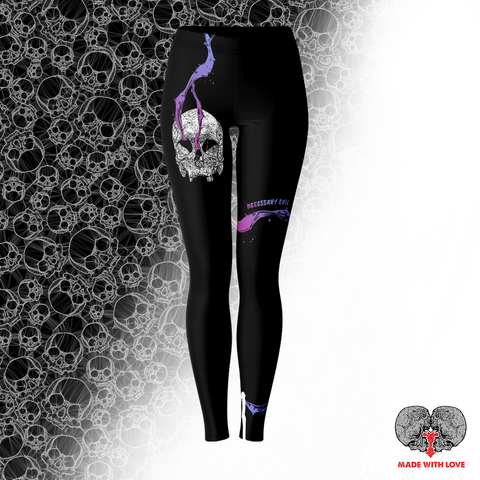 Necessary Evil Leggings - NeoSkull