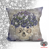 Something Will Grow - Spun Polyester Square Pillow - NeoSkull
