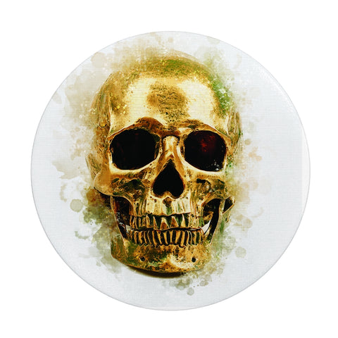 Golden Age Skull Collapsible Phone Grip & Stand